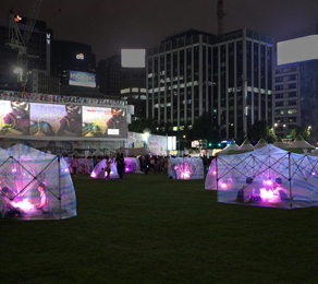 NETS GO AT SEOUL PLAZA