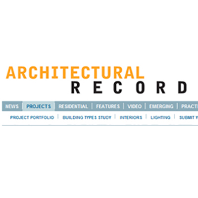 AWA FEATURED IN ARCHITECTURAL RECORD