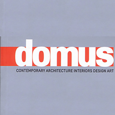 Tote Featured in Domus